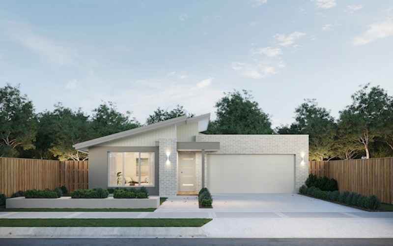 3 beds, 2 baths, 2 cars, 16.50 square facade