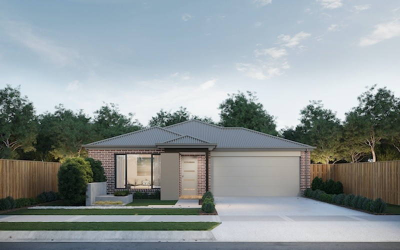 4 beds, 2 baths, 2 cars, 20.80 square facade