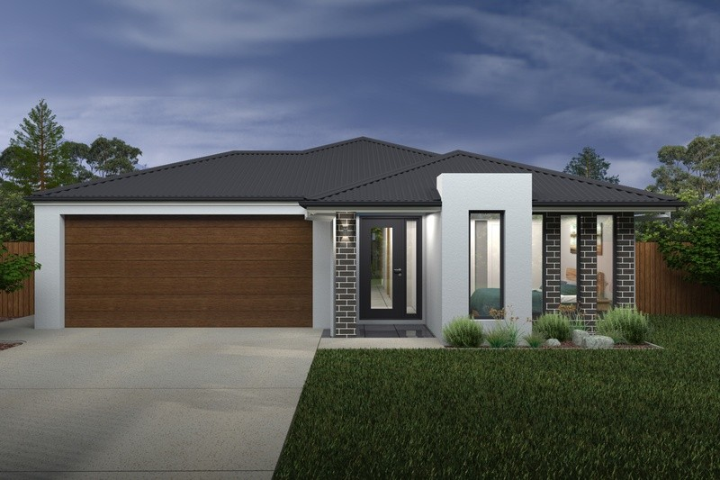 Single storey Domani House by Rex Homes