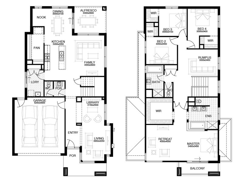 Double storey Avalon House design