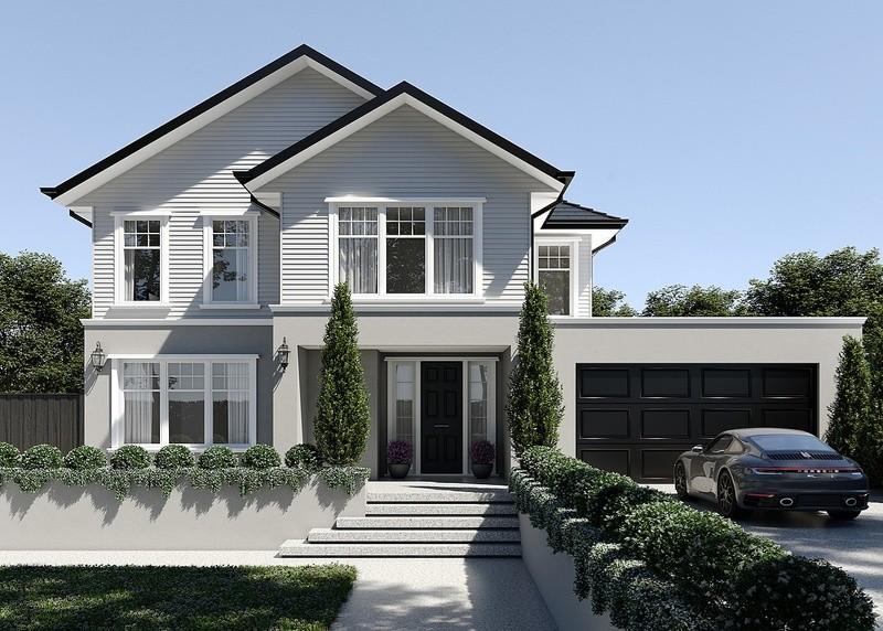 Double storey Kensington 375 House design