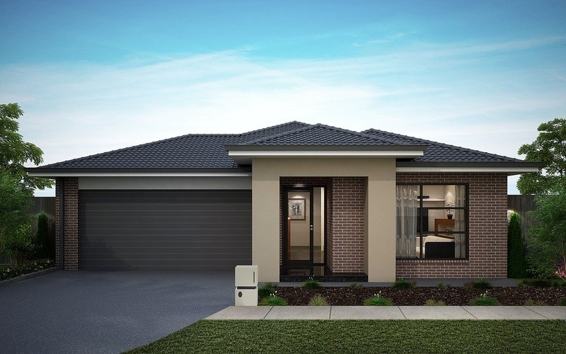 Single storey Rose 136 House by Omnia Homes