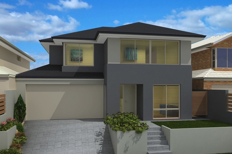 Double storey Contemporary House by Renowned