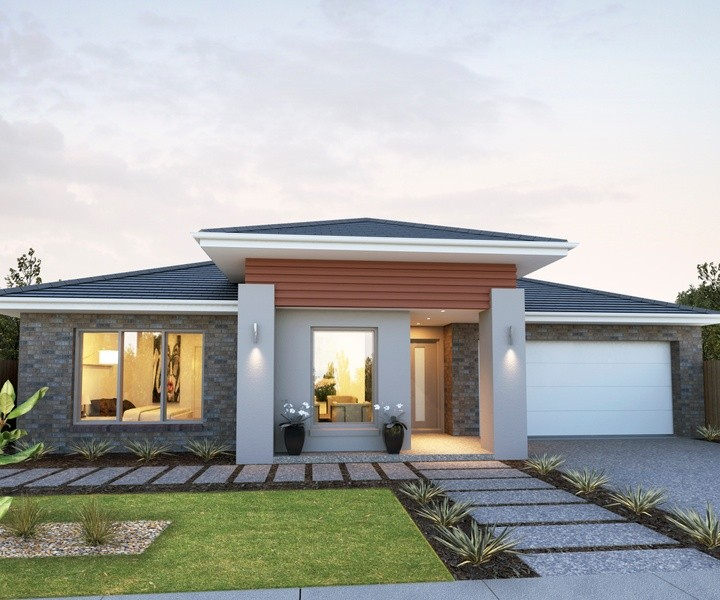 Single storey Tara House by Rex Homes