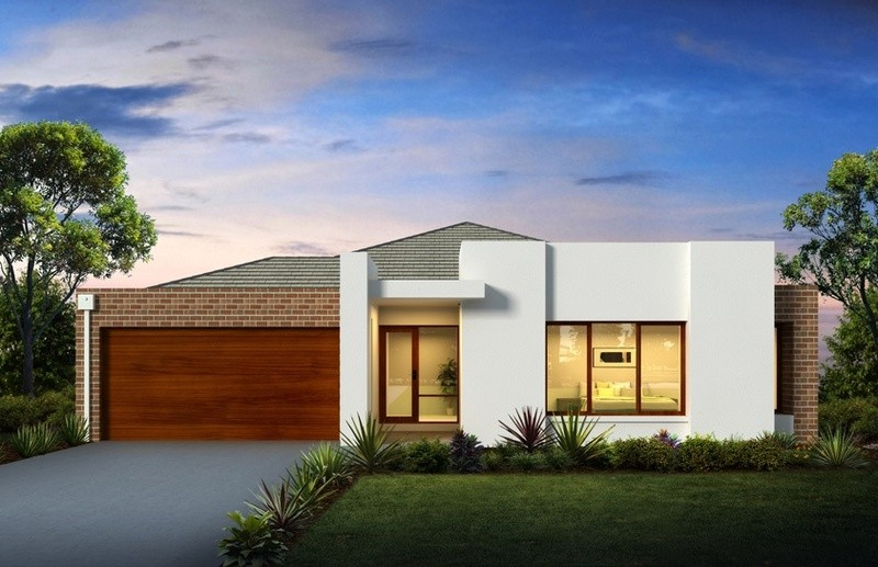 Single storey The Dunedin House by Aspire Designer Homes