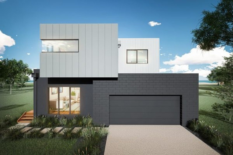 Double storey Flinders House design