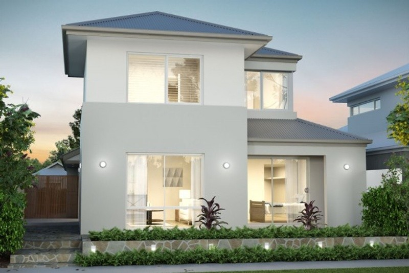 Double storey The Kirby Hip House by New Level Homes