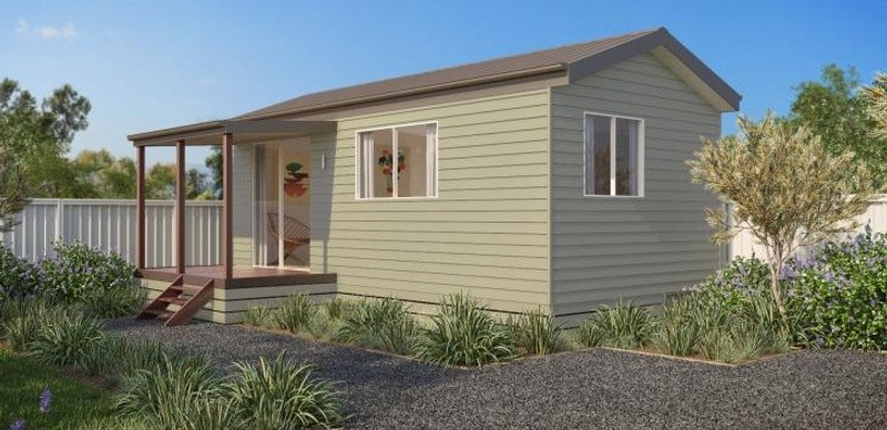 Single storey The Melaleuca 2 Granny Flat by Todd Devine Homes
