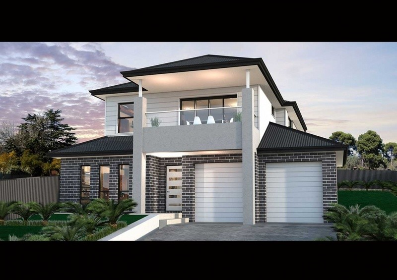 Double storey TS 185 House by Rendition Family Homes