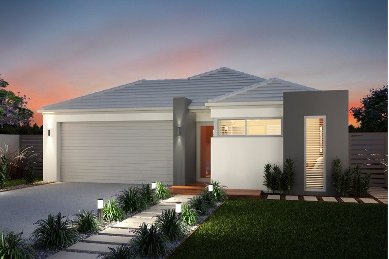 Single storey The Brisbane House by Smooth Start