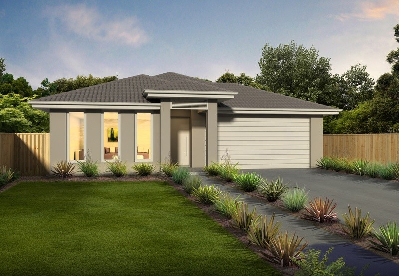 Single storey Windsor 187 House by Orbit Homes