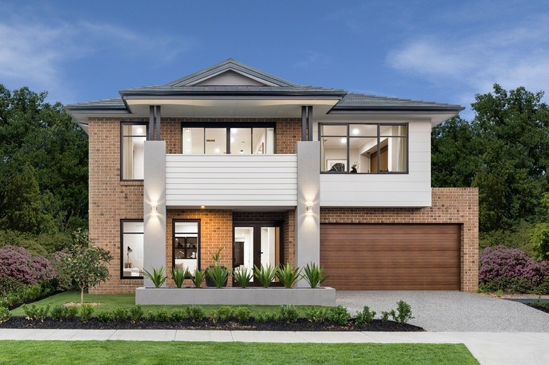 Double storey Balmoral House by Dennis Family Homes