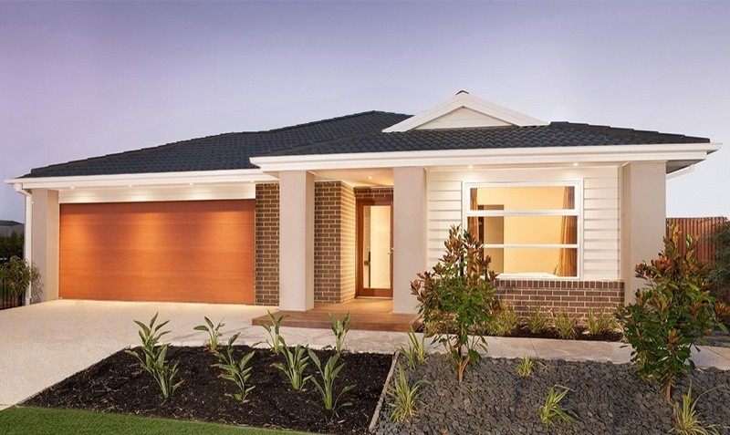 Single storey Sanford 240 House by Bentley Homes