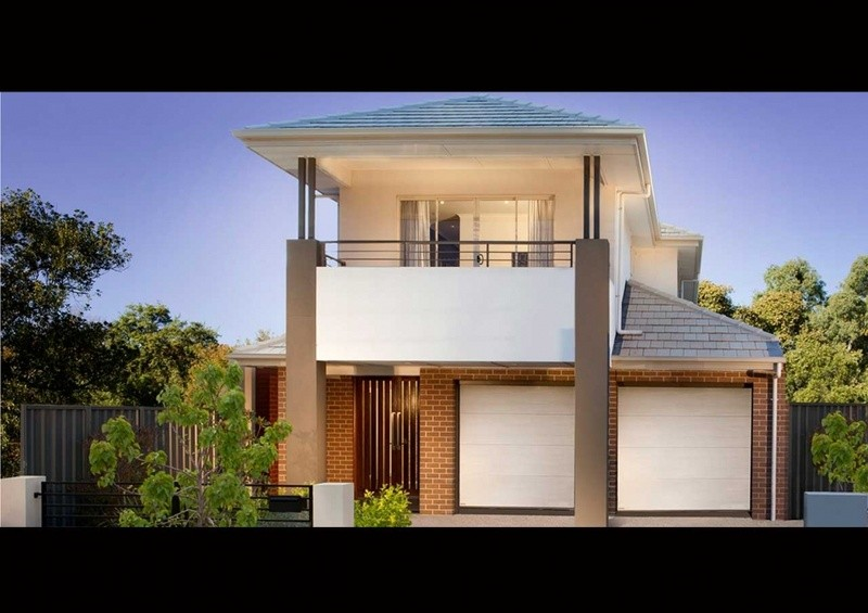 Double storey TS 175 House design