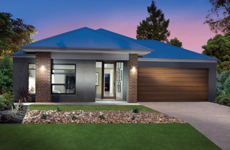 Single storey The Livingstone House by Aspire Designer Homes