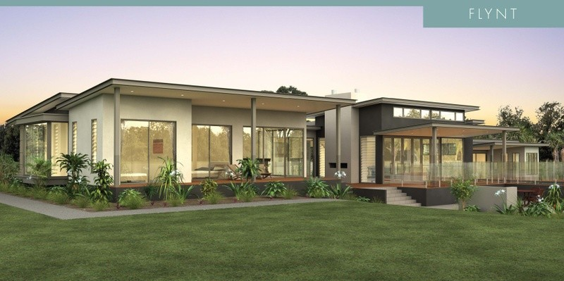 Single storey Flynt House by David Reid Homes