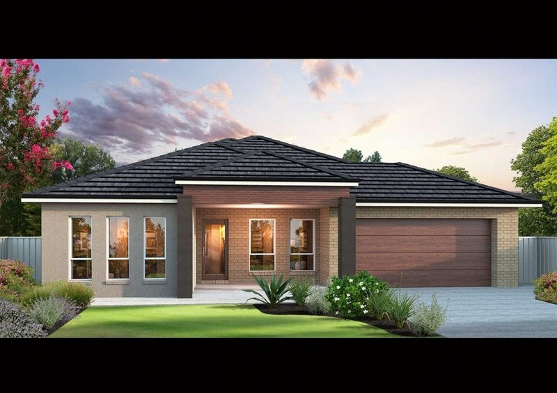 Single storey ES 220 House by Affordable Family Homes SA