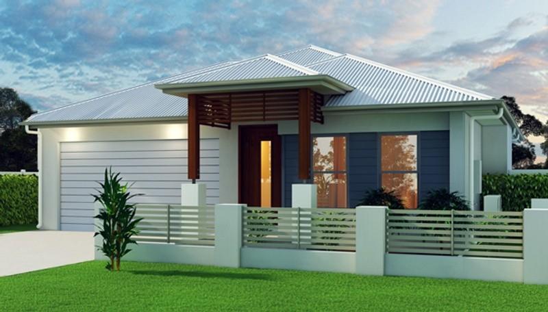 Single storey Bondi 185 House by Grady Homes