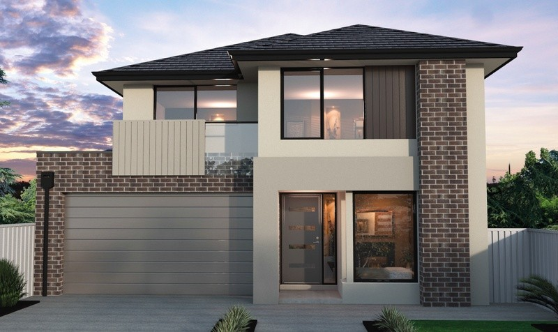Double storey Pinnacle 500 House by Bentley Homes
