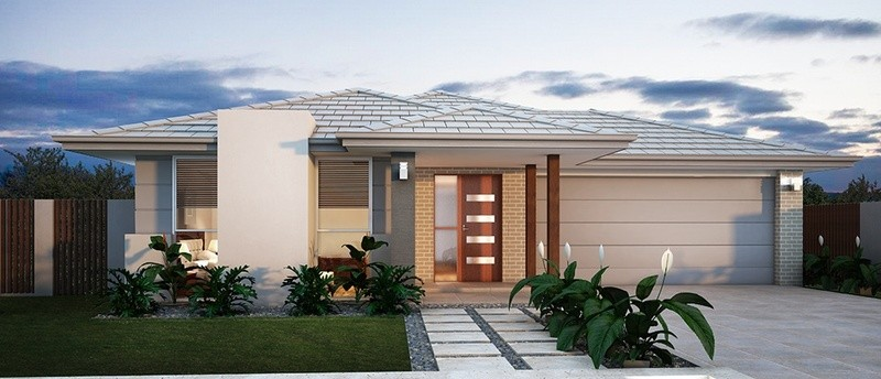 Single storey Contemporary House by Sienna Homes