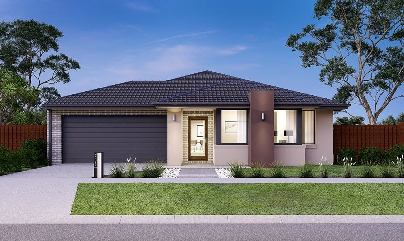 Single storey Rochester 277 House by Mimosa Homes