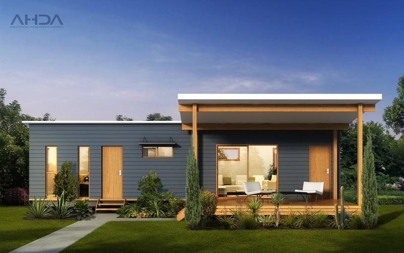 Single storey GF1003 Granny Flat by Architectural House Designs Australia