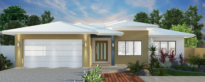 Single storey Resort 268 House by Jazz Homes