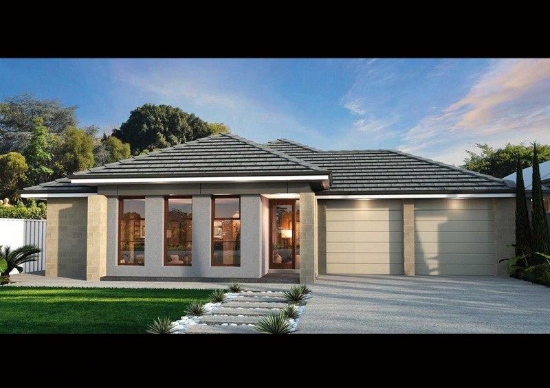 Single storey ES 240 House by Affordable Family Homes SA