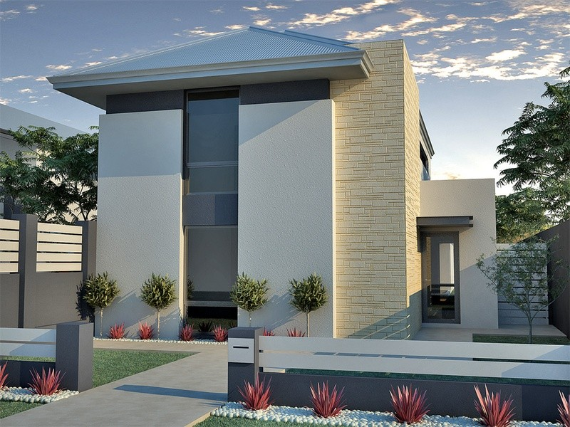 Double storey Modern House by in-vogue