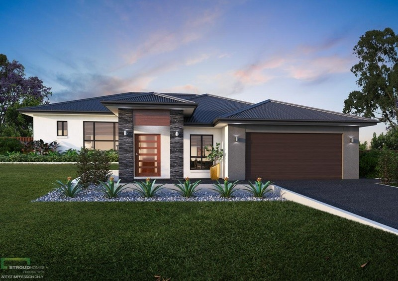 Single storey Miami 270 House by Stroud Homes Melbourne Outer North East
