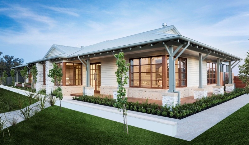 Single storey Balhannah 300 House by Simonds