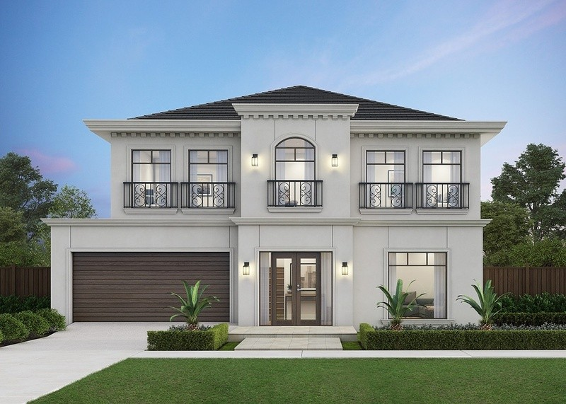 Double storey Serenity 362 House by Omnia Homes