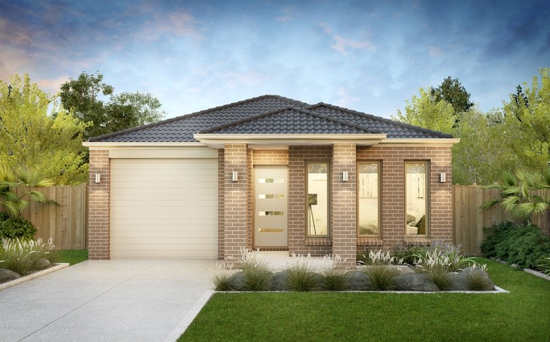 Single storey Barwon House by SJD Homes