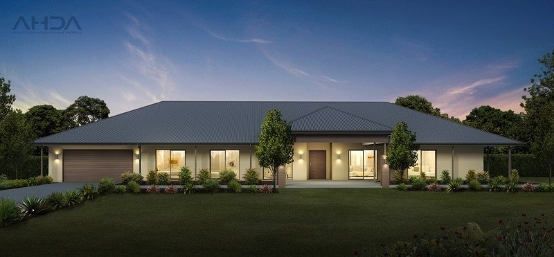 Single storey Traditional House by Architectural House Designs Australia