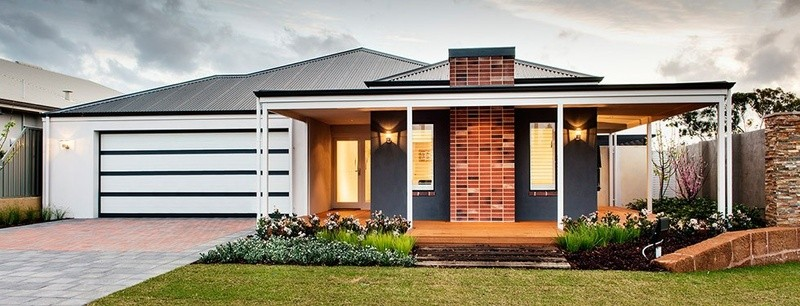 Single storey The Homebush House by Commodore Homes