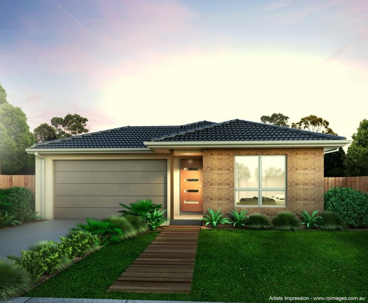 Single storey Grovedale House design