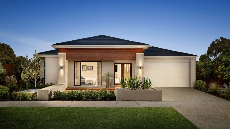 Single storey Sacramento House by Carlisle Homes