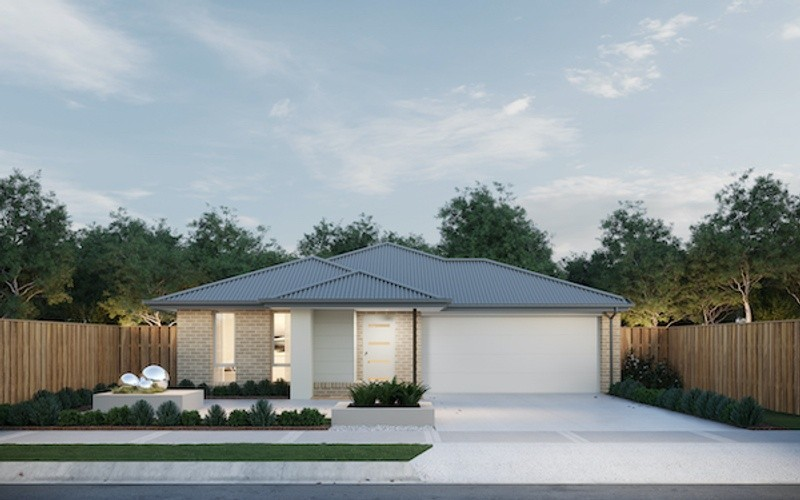 4 beds, 2 baths, 2 cars, 27.40 square facade