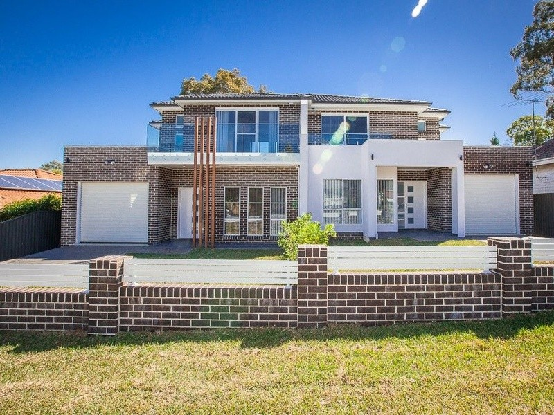 Double storey Girraween custom build  - Duplex Dual Occupancy by Inspiring Homes