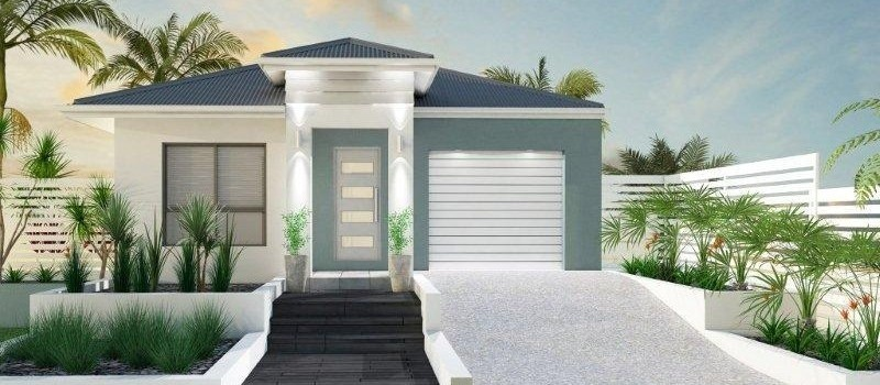 Single storey Mooloolaba 151 House by Jazz Homes
