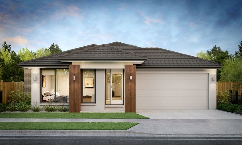 Single storey Penrose H270 House by SJD Homes