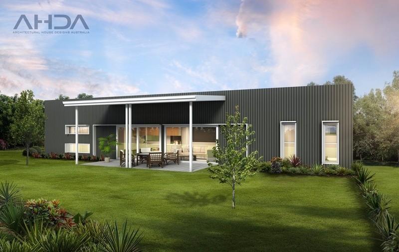 Single storey GF2006 Granny Flat by Architectural House Designs Australia