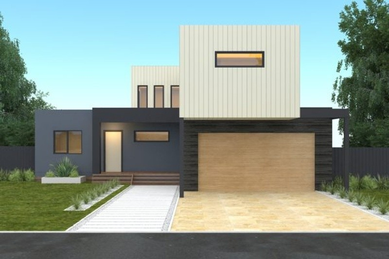Double storey Modern House by Langford Jones Homes