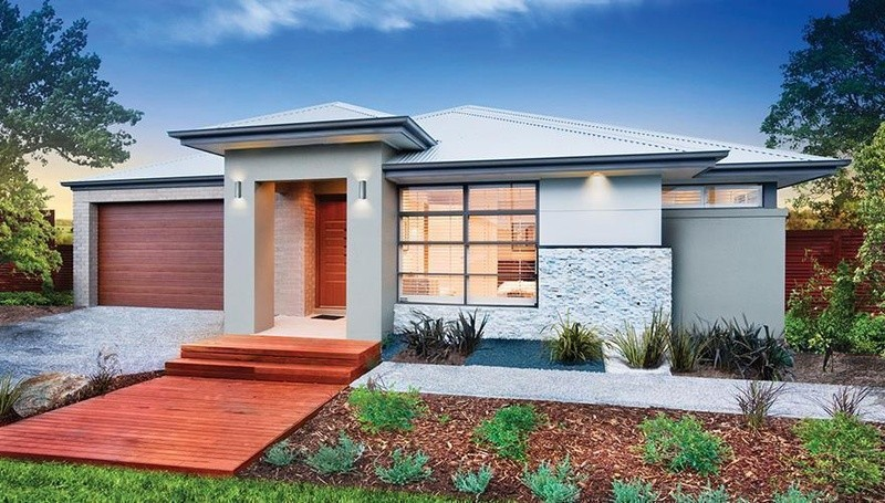 Single storey Macedon House by Dennis Family Homes