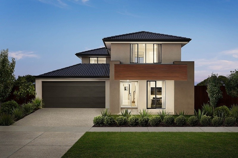 Double storey Rutherford House by Carlisle Homes