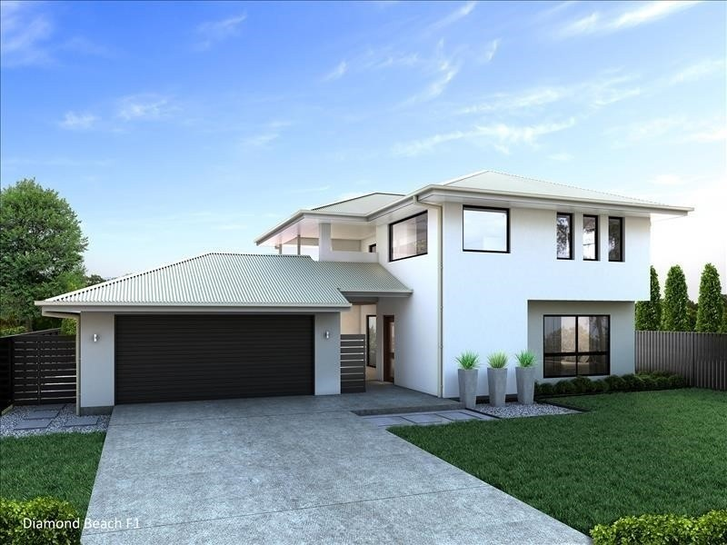 Double storey Diamond Beach 260 - F1 House by Integrity New Homes