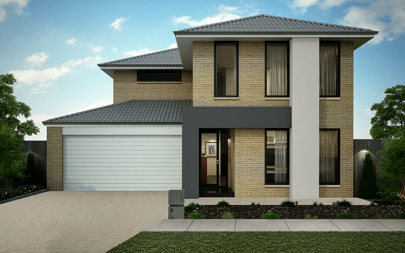 Double storey Riverview 220 House by Omnia Homes