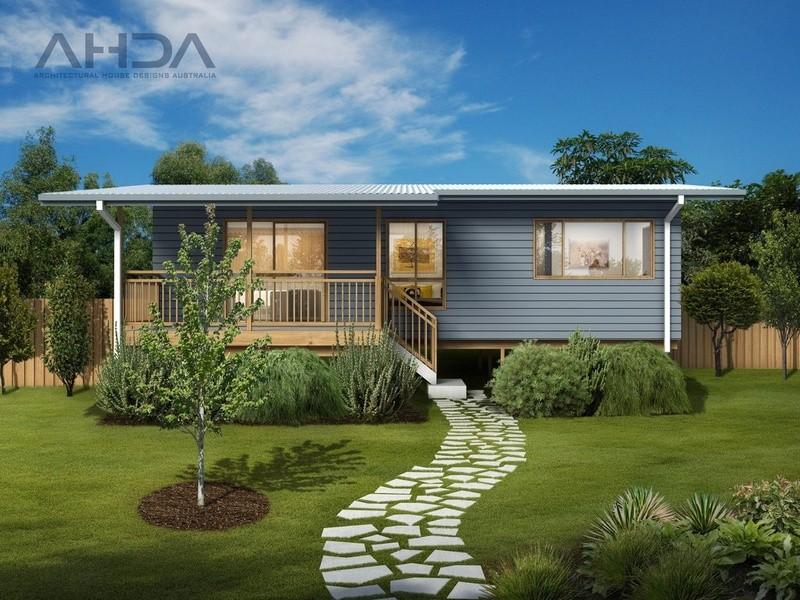 Single storey GF2001 Granny Flat by Architectural House Designs Australia
