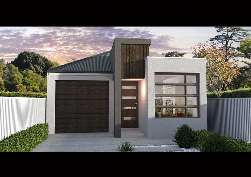 Single storey NL 155 House by Affordable Family Homes SA