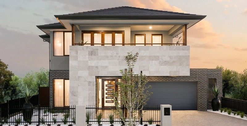 Double storey McLachlan House design